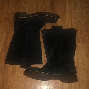 * RARE* Dr Marten Jenny Wool Lined Boots